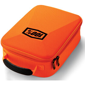 100% Goggle Case, fluo orange